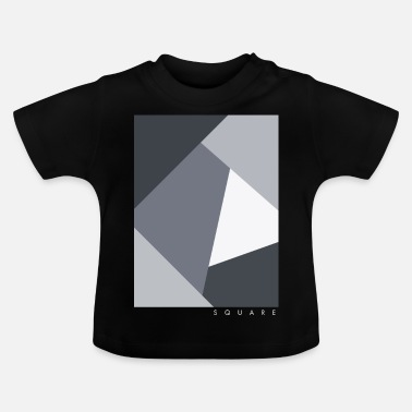 Graphic Art Square Graphic - Baby-T-shirt