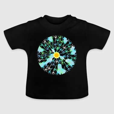 Puff's flower - Baby T-Shirt