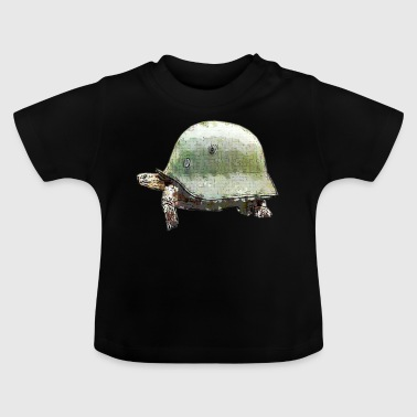 TURTLE militaire helm - Baby T-shirt