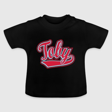 Toby - T-shirt personalised with your name - Baby T-Shirt