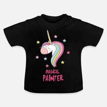 Painter magical Painter - Baby-T-shirt