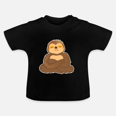 Grappige Sloth Sloth slaap Trend gift Bestsellers - Baby T-shirt