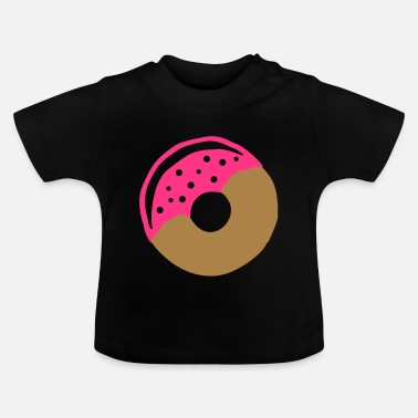 Frost Donut with frosting - Baby T-Shirt