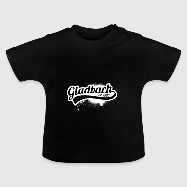 Football League Allemagne Gladbach 1900 fan club - T-shirt Bébé