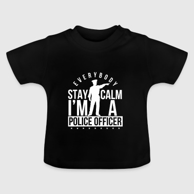Politieagent - Politie - Police Officer - Gift - Baby T-shirt