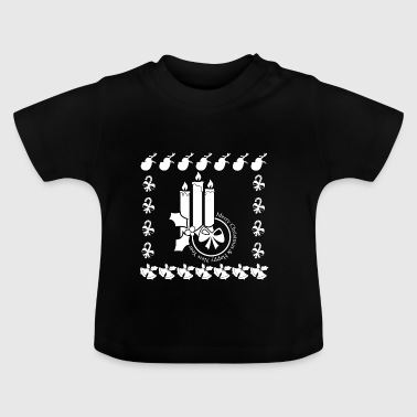 Christmas Advent Advent Candle Candles - Baby T-Shirt