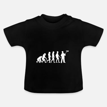 Painter Painter evolution painter ockupation, jobb - Baby-T-shirt