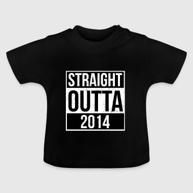 Straight Outta 2014 - Baby-T-shirt