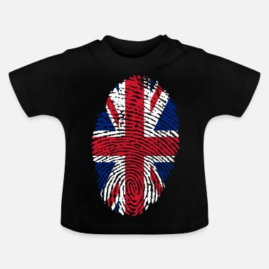 Uk Fingerprint - UK - Baby T-Shirt