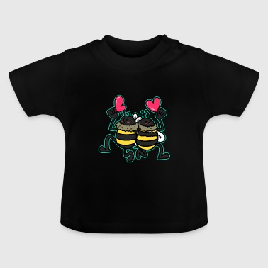 Paare Paare, Liebe, Paar - Baby T-Shirt