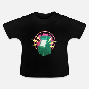 Video Video spelautomater - Baby-T-shirt