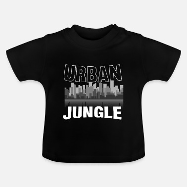 Jungle Stedelijke jungle jungle cadeau - Baby T-shirt
