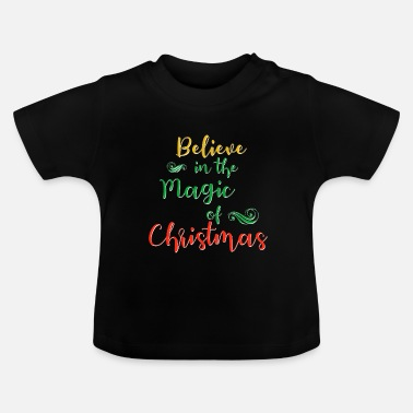 Writing Magic Christmas Christmas magic - Vauvan t-paita