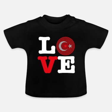 Turkey TURKEY HEART - Baby T-Shirt