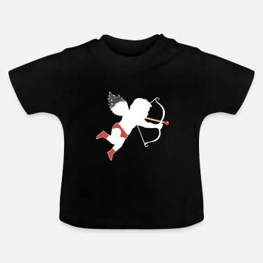 Cupido El Cupido Perfect Match vit - Baby-T-shirt