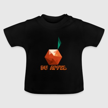 Apfeldesign - Vektor - Baby T-Shirt