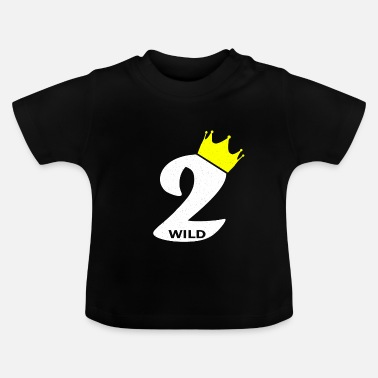 Birthday Child Birthday child 2 years Two birthday child - Baby T-Shirt