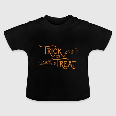 Halloween-trick or treat - Baby T-shirt