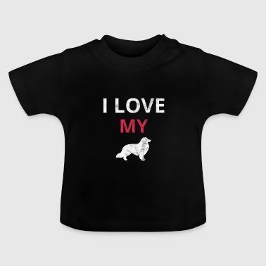 Border collie border collie cadeau - T-shirt Bébé