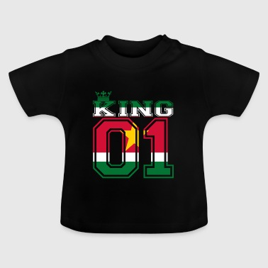 land partner king 01 prins Suriname - Baby T-shirt