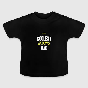 Distressed - DAD BOXE COOLEST - T-shirt Bébé