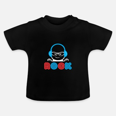 Funny Baby Baby Rock - Funny babysuit Baby Body baby - Baby T-shirt