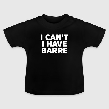 Barre - Baby T-shirt