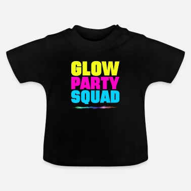 Neon Glow Squad - Baby T-Shirt