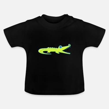 Crocodile Crocodile Kids Kids T-Shirt by DRUCKPUNK - Baby T-Shirt