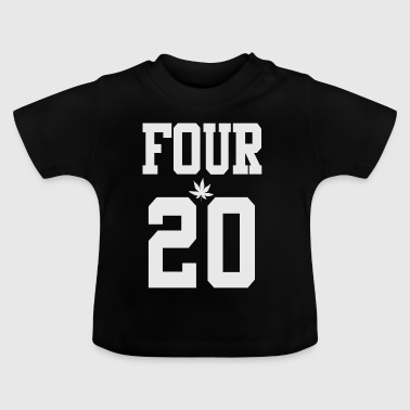 Grey 420 smokers - Baby T-Shirt
