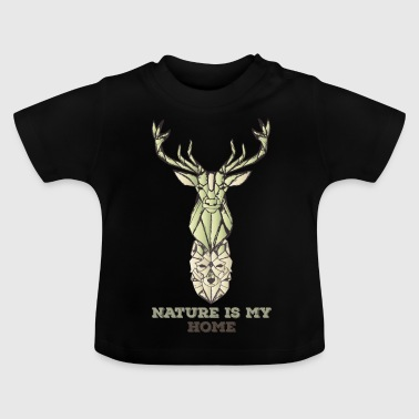 Stag Wolf - Baby T-Shirt