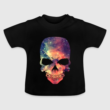 Universe - Space - Galaxy Skull - Baby T-shirt