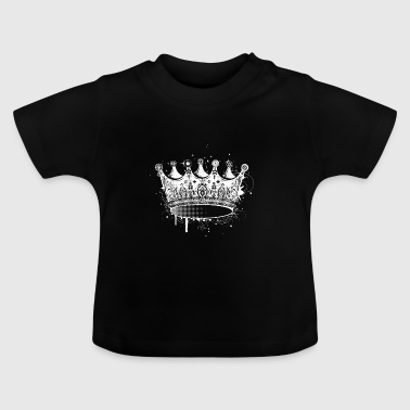 Crown in graffiti style - Baby T-Shirt