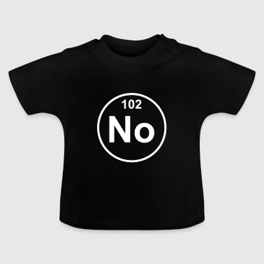 Element 102 - no (nobelium) - Minimal - Camiseta bebé