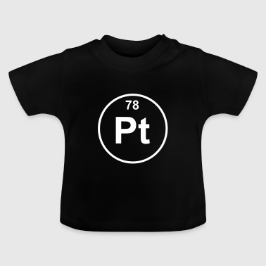 Element 78 - pt (platinum) - Minimal - Baby T-shirt