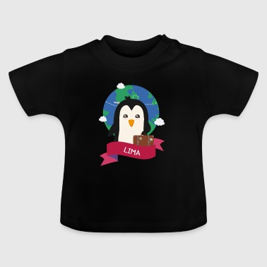 Penguin Globetrotter from LIMA - Baby T-Shirt