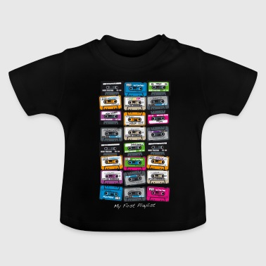 My First Playlist-hip hop - T-shirt Bébé
