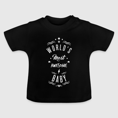 awesome baby - Camiseta bebé