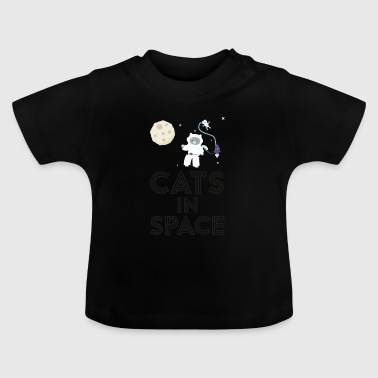 Cats in outer space S268b - Baby T-Shirt