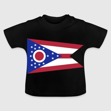 Flag Ohio - T-shirt Bébé