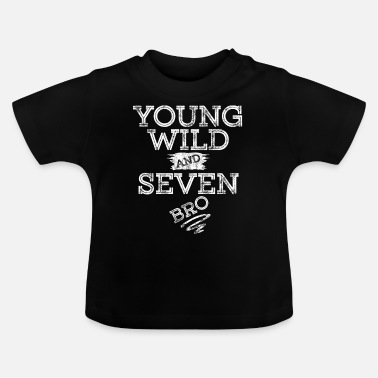 Spongebob YOUNG WILD AND SEVEN T-SHIRT - Baby T-Shirt