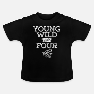 Spongebob YOUNG WILD AND FOUR T-SHIRT - Baby T-Shirt