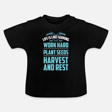 Worker Work Hard - T-shirt baby
