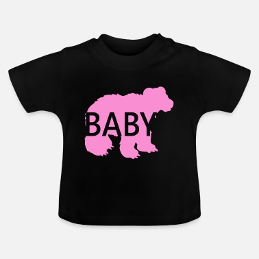 Pink Baby Bear Pink Great gift idea - Baby T-Shirt