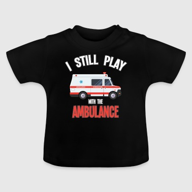 Ambulancechauffeur ambulance paramedicus ambulance driver cadeau - Baby T-shirt