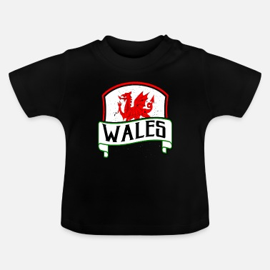 Celtic Dragon Flag Wales Celts origin gift - Baby T-Shirt