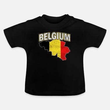 National Colours Belgium Nation Nationality - Baby T-Shirt