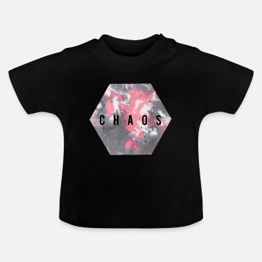 Graphic Art Chaos Graphic art Geschenkidee - Baby T-Shirt