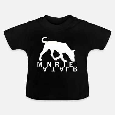 Mantrailing Mantrailer dog dogs - Baby T-Shirt