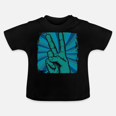 Hippiefestival Peace Hippie Festival Peace - T-shirt baby